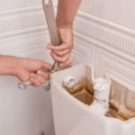 How to change the toilet valve