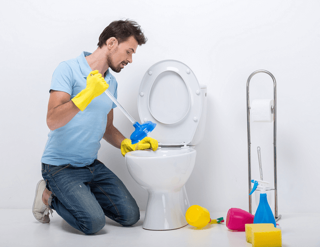 Unclog a Toilet