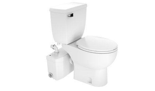 Saniflo SaniPLUS: Macerating Upflush Toilet Kit