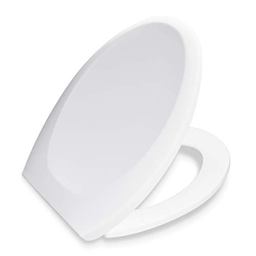 Bath Royale BR606-00 Premium Elongated Toilet Seat
