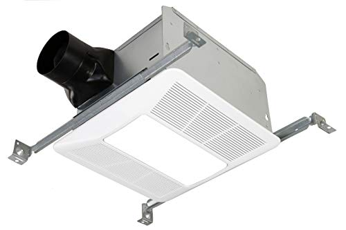 KAZE APPLIANCE SE90TL2 Ultra Quiet 90-CFM 0.3-Sones Bathroom Exhaust Fan