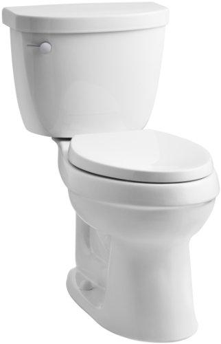 KOHLER K-3609-0 Cimarron Comfort Height Elongated Toilet