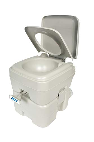Camco Standard Portable Travel Toilet, Designed for Camping