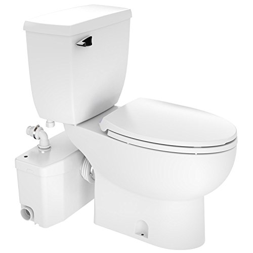 Saniflo Toilet - Two-piece SaniPlus 002/087/005