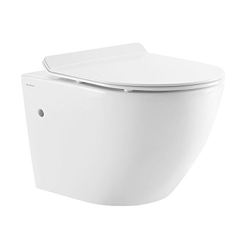 Swiss Madison SM-WT449 Sublime Wall Hung Toilet
