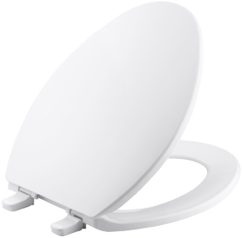 KOHLER K-4774-0 Brevia Elongated Toilet Seat