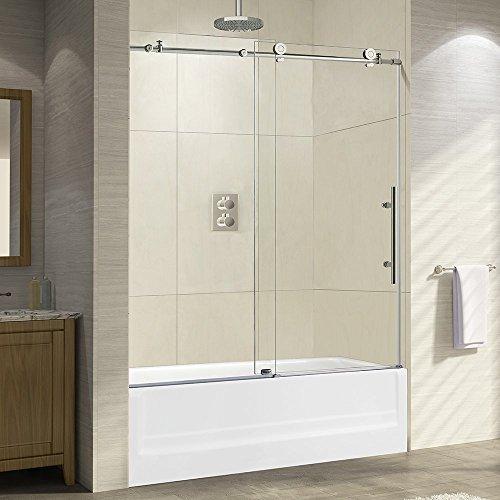 WOODBRIDGE Frameless Sliding Shower