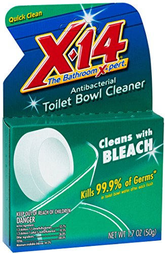 X-14 Bleach Antibacterial Toilet Bowl Cleaner