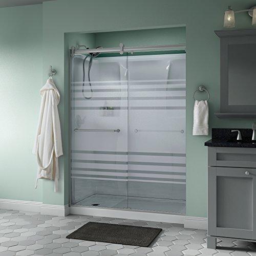 """Delta Shower Doors SD3172720 Linden 60"""" x 71"""" Semi-Frameless"""