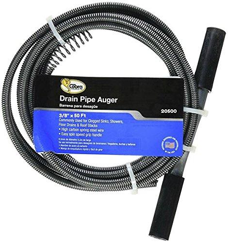 Cobra Plumbing 20500 Drain Auger