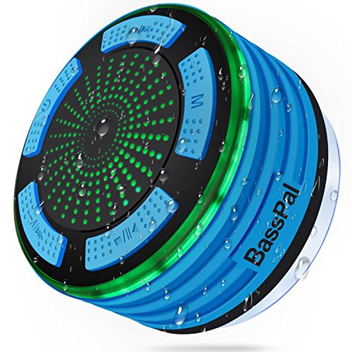 BassPal Shower Radios, IPX7 Waterproof