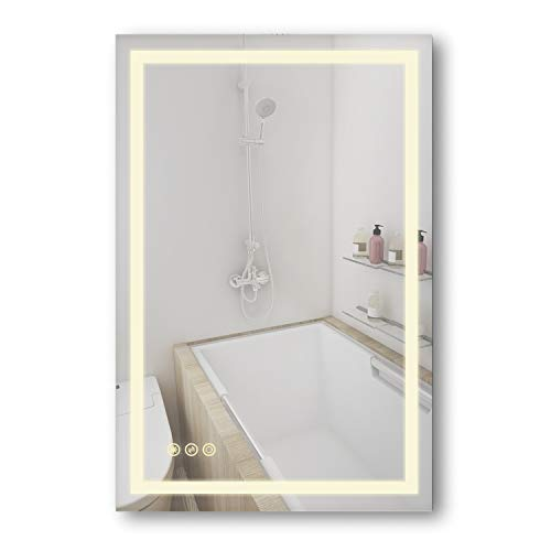 B&C Danube Super Slim LED Backlit Bathroom Mirror