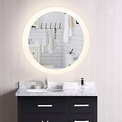 CO-Z Dimmable Rectangle LED Bathroom Mirror