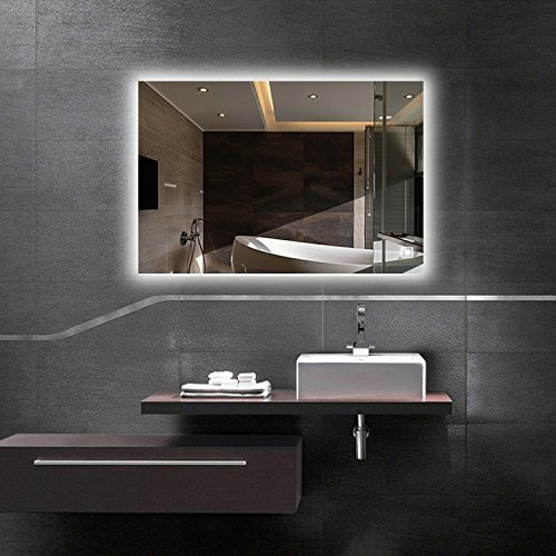 Hans&Alice LED Wall Mounted Bathroom Mirror