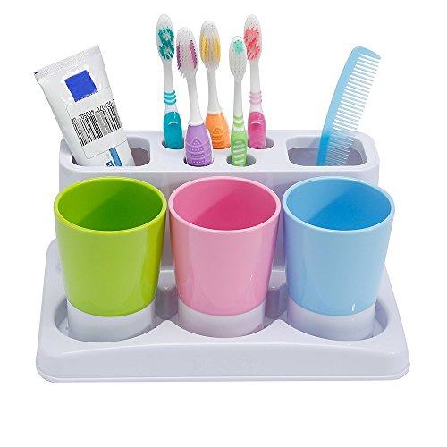 Eslite Toothbrush Toothpaste Holder