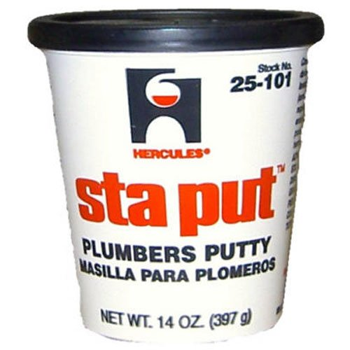 Oatey Hercules Sta Put Plumbers Putty