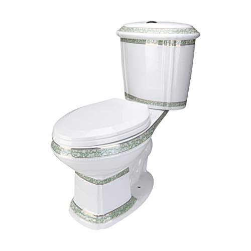 Renovators Supply Manufacturing Elongated Toilet Dual Flush