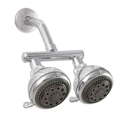 Zoe Industries Neptune Dual Shower Heads