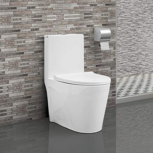 Swiss Madison SM-1T254 St. Tropez One Piece Toilet
