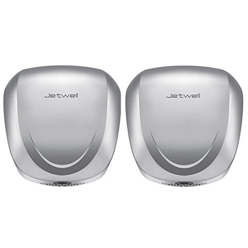 JETWELL (2 Pack High-Speed Commercial Automatic Eco Hand Dryer