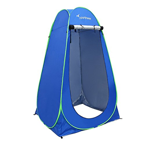 Sportneer pop-up camping shower tent