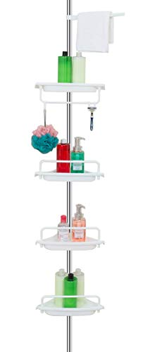ALLZONE Constant Tension Corner Shower Caddy