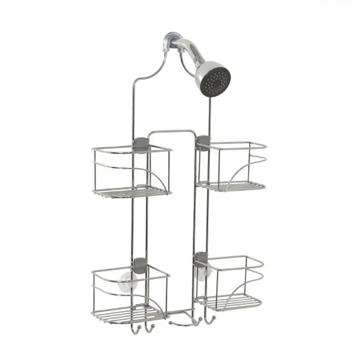 Zenna Home Expandable Over-The-Shower Caddy