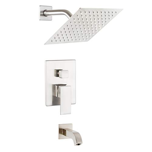 POP Shower Faucet Set with Tub Spout