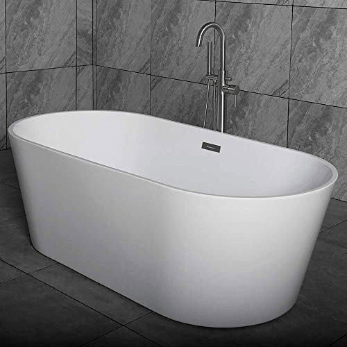 "Woodbridge 59"" Acrylic Freestanding Bathtub Contemporary"
