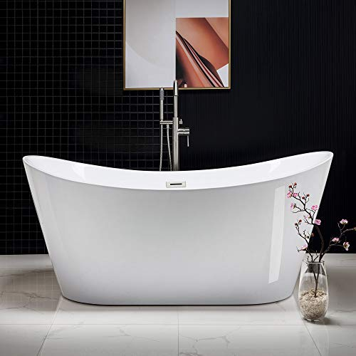WOODBRIDGE Modern Bathroom Glossy Acrylic