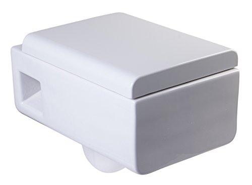 EAGO WD333 Square Modern White