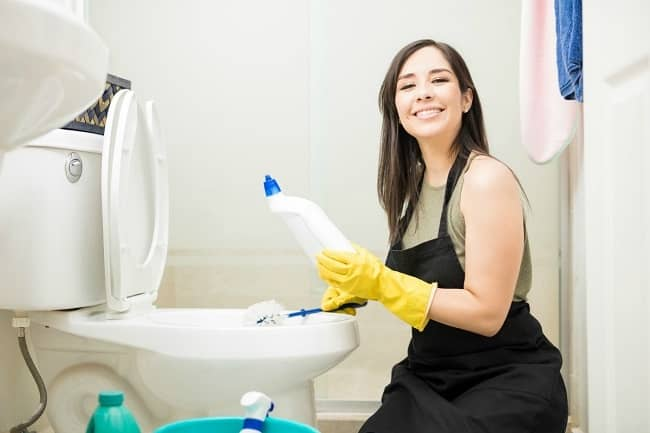 How To Clean A Badly Stained Toilet